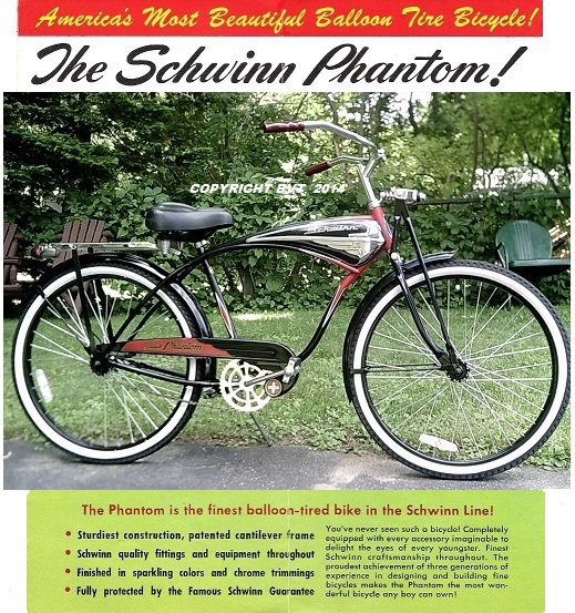 SCHWINN BLACK PHANTOM!